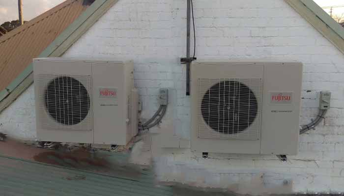 split air conditioner installation
