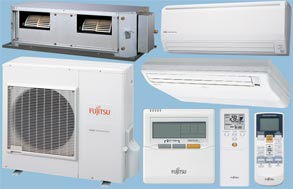 fujitsu split air conditioner