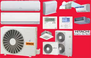 hitachi ducted air conditioners