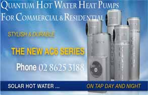 quantum hot water systems